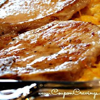 Pork Chop and Hashbrown Casserole.