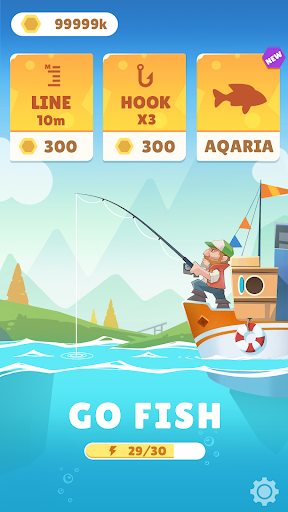 Bounty Fishing-Idle Fishing Master modavailable screenshots 1