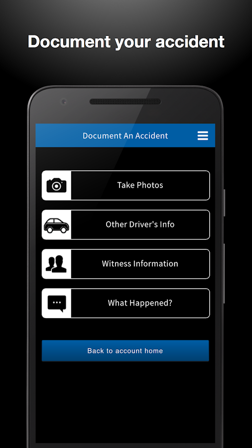 Accident & Collision Care- screenshot