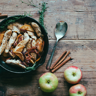 Chicken with Apples and Chardonnay