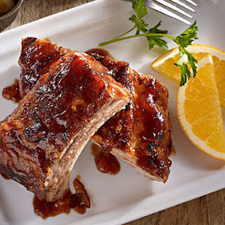 Easy Chipotle Barbecued Ribs.