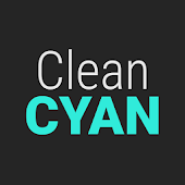 GO Contacts Clean Cyan