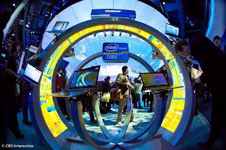Photo: Microsoft's booth - Photo by Sarah Tew