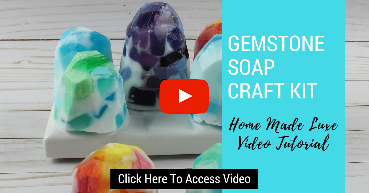 Click here to access gemstone soap craft kit tutorial