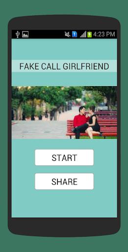 偽のコールガールフレンド