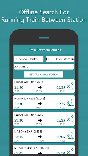 Where is my Train - Indian Rail Live Train Status screenshots 7