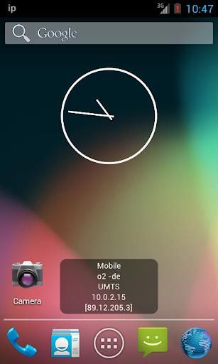 IP Widget 1.38.10 screenshots 2