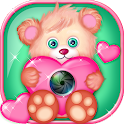 Little Bear Photo Collage Art icon