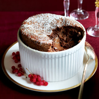 Classic Chocolate Souffle.