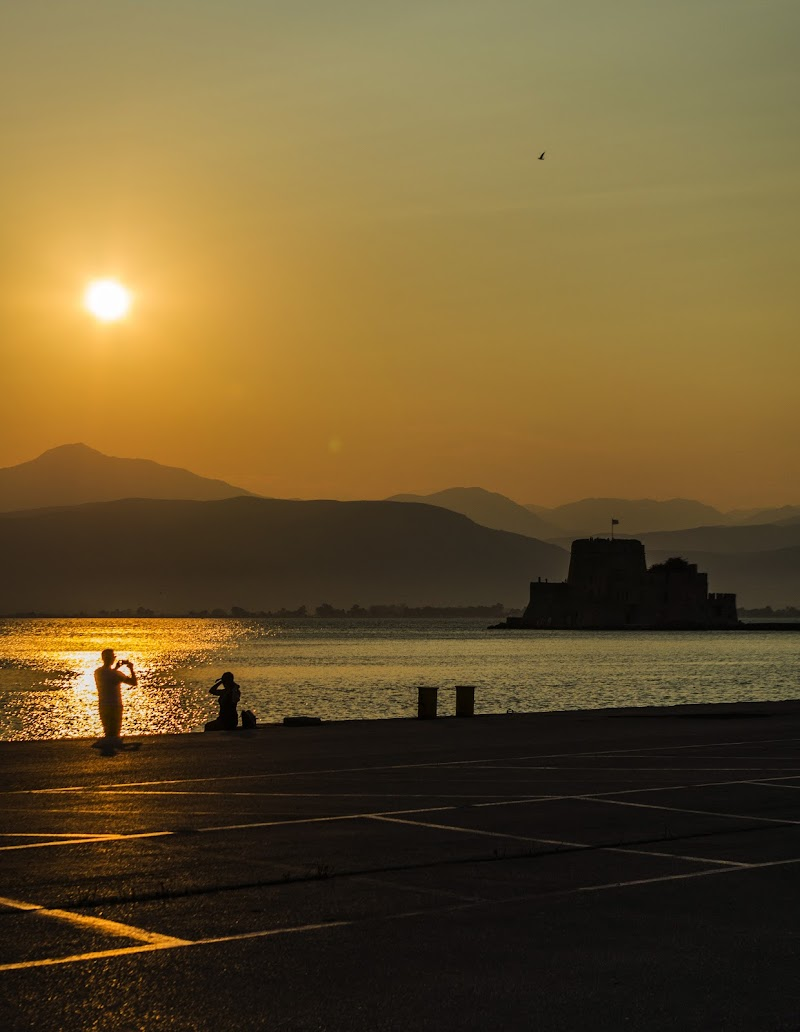 Sunset at Nafplio di lorenzo_piccinini