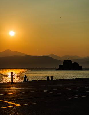 Sunset at Nafplio di lorenzo_piccinini