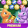 Dinosaur Eggs Pop 2 Rescue Buddies Bubble Shooter временно бесплатно