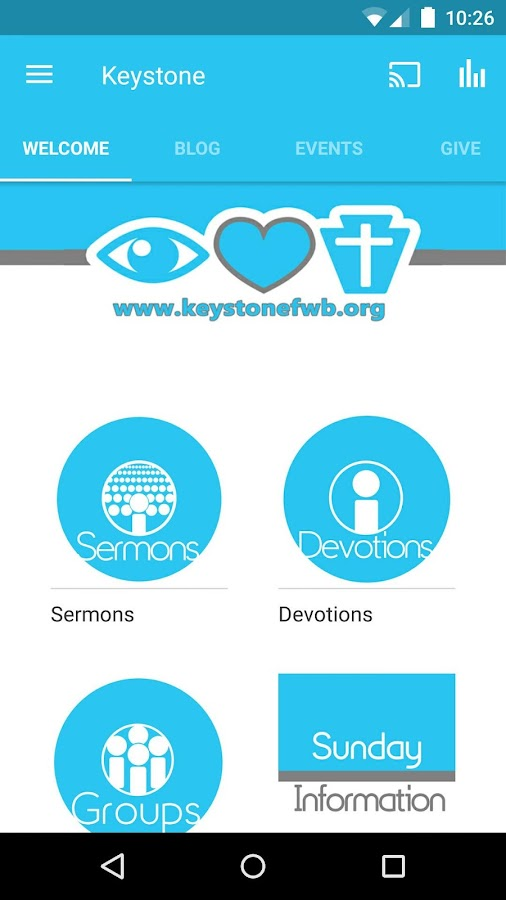Keystone Church- screenshot