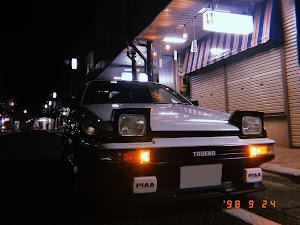 スプリンタートレノ  AE86 GT APEX 61年のカスタム事例画像 隼也さんの2020年09月25日11:21の投稿