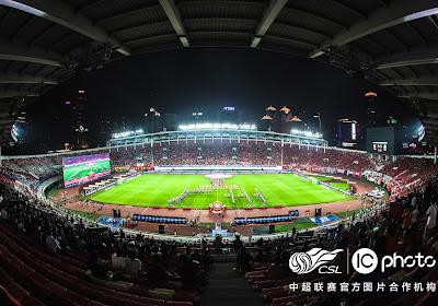 🎥 30.000 supporters font leur retour au stade en Chine