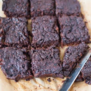 Clean Eating Flourless Brownie