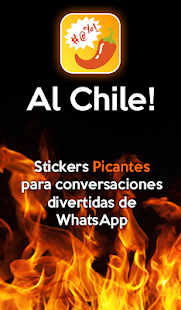 Al Chile🌶 - Stickers Groseros para Whatsapp Screenshot