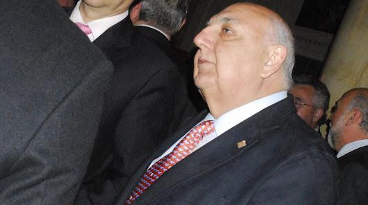 El empresario Miguel Rifá en un acto en el Círculo Mercantíl