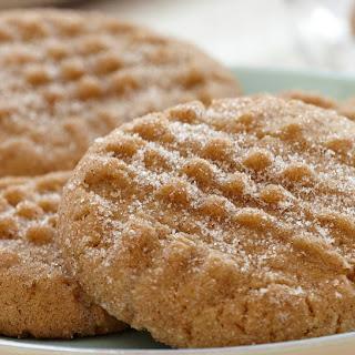 Peanut Butter Cinnamon Cookies.