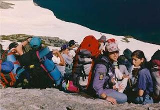 Photo: 1994 - Bariloche, Campamento anual.