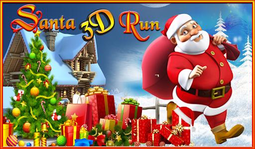 Santa Claus 3D Run