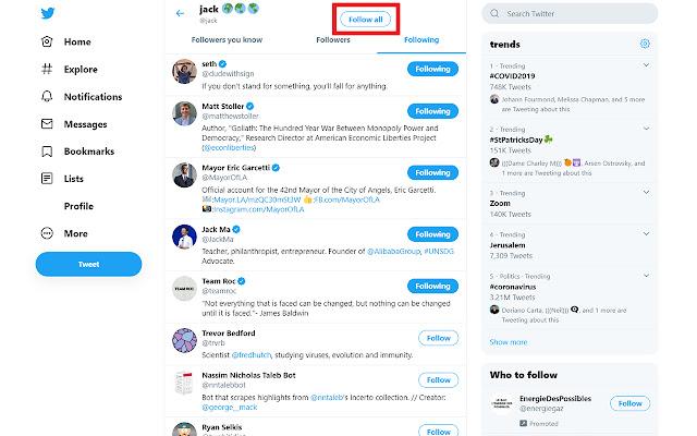 Twitter Growth Hacker