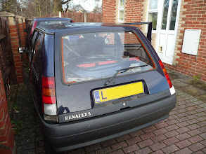 Photo: Both Renault 5 Gt Turbo Raider Rear Pillars fitted.