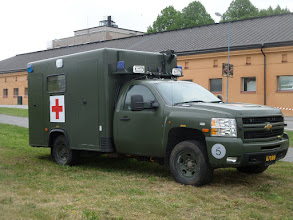 Photo: Militärambulans 301