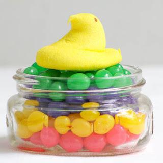Jelly Bean Peep Jars