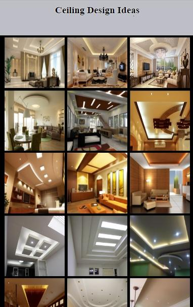 Ceiling Design Ideas 2017- screenshot