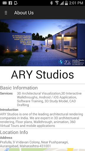 ARY Studios: 3D Viz Services