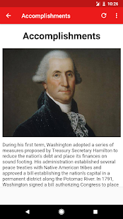 App George Washington Biography APK for Windows Phone