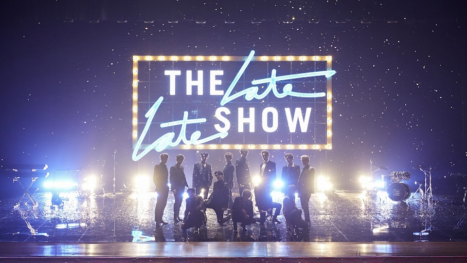 seventeen the late late show james corden @pledis_17
