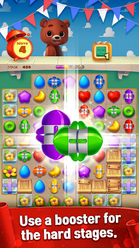 Toy Bear Sweet POP : Match 3 Puzzle apkpoly screenshots 4