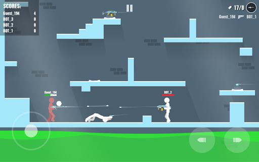Stickman Battles: Online Shooter  captures d'écran 6
