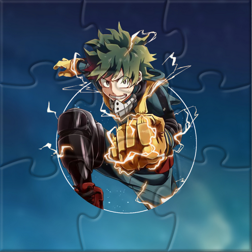 My Hero Academia Jigsaw Puzzle