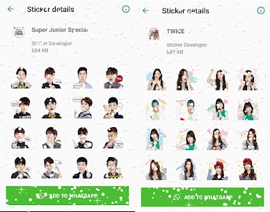WAStickerApps Korean Idol Sticker for WhatsApp Download For Android 2