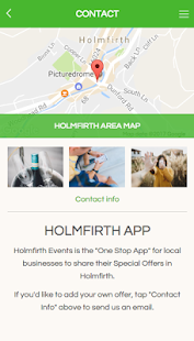 Holmfirth App- screenshot thumbnail