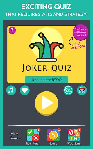 Joker Trivia Quiz apkdebit screenshots 8