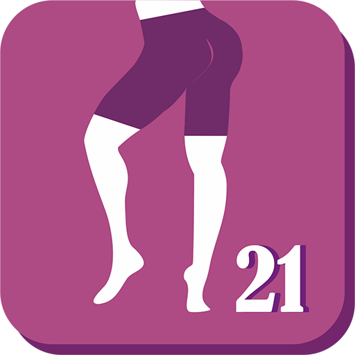 Buttocks and Legs In 21 Days - Butt & Legs Workout Icon