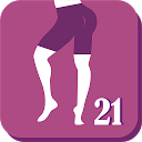 Buttocks and Legs In 21 Days - Butt & Legs Workout APK