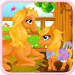 Pony Gives Birth Baby Games APK