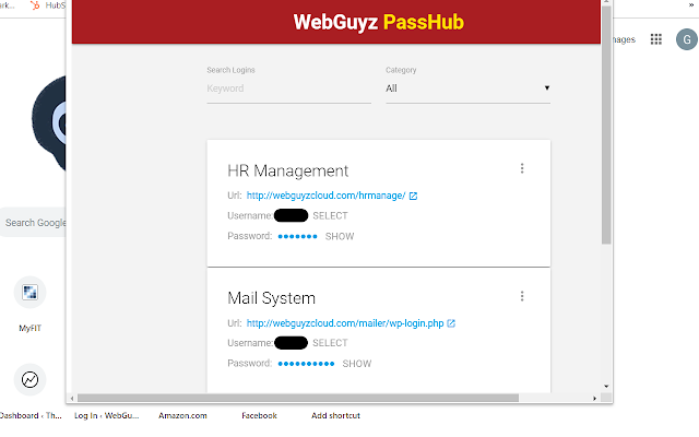 WebGuyz Passhub