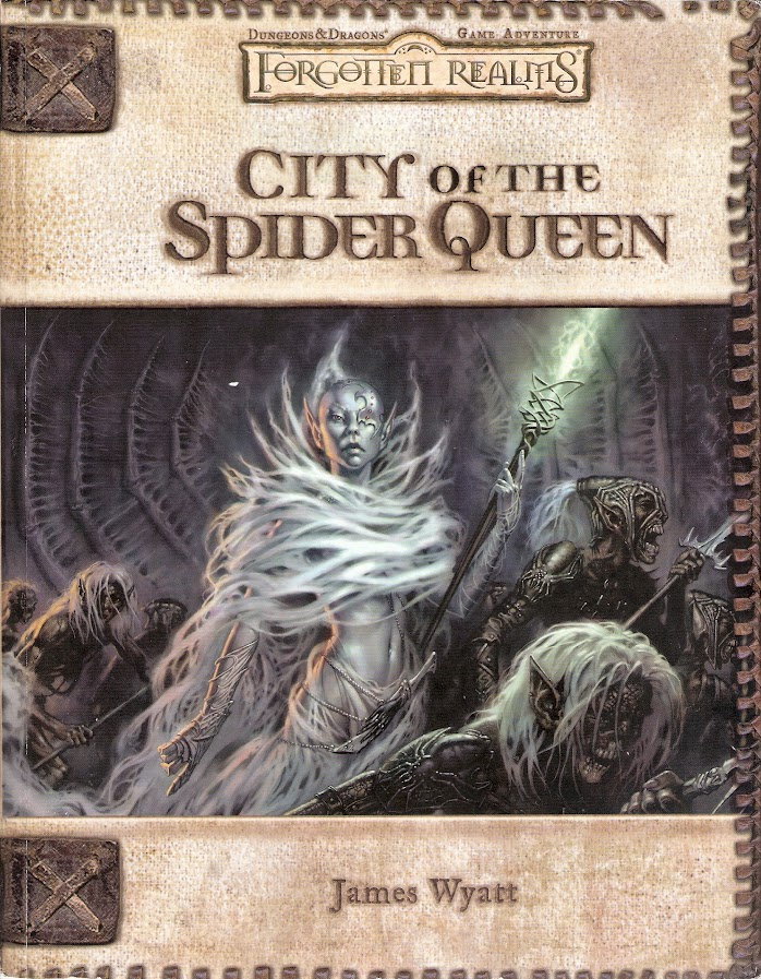 City of the Spider Queen cover