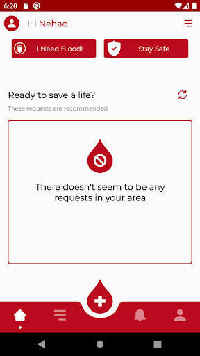 RED - Blood Donation App ss2
