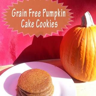 Grain Free Pumpkin Cake Cookies