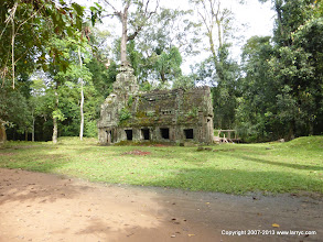 Photo: Preah Khan was used as a military base by the Vietnamese during the 1978-81 occupation of Cambodia.