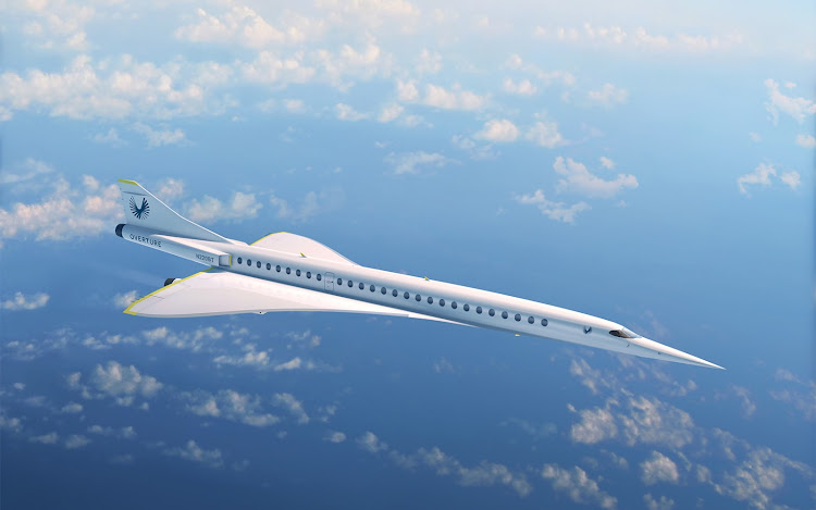 Boom Supersonic Overture Airline.