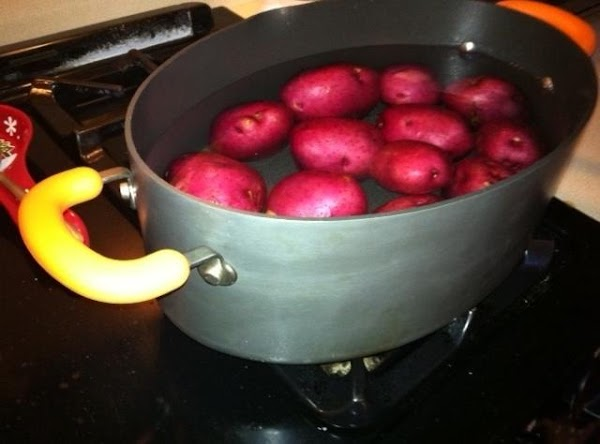 Place potatoes in a large pot, bring to a boil, and let cook for...
