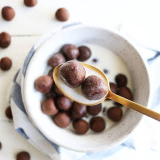 Healthy Cocoa Puffs Cereal.